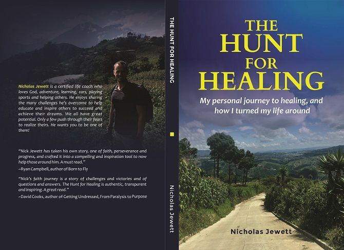 """The Hunt For Healing,"" available on Amazon"